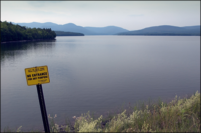 The Ashokan Reservoir in New York's Ulster County is one of two reservoirs in the Catskill Water Supply System delivering drinking water to New York City. Situated approximately 73 miles north of the city, the Ashokan supplies about 40% of NYC's daily drinking water needs. Credit: flickr.com//photos/carbonnyc (D. Goehring)