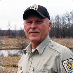 Recently retired from a 34-year stint as Refuge Manager at the Great Swamp National Wildlife Refuge, will be honored at GSWA's 2014 Gala Celebration on October 29.