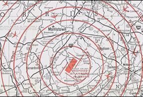 Jetport Impact Map
