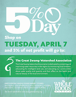 Whole Foods 5% Day benefitting GSWA, 04.07.2015