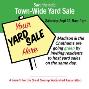 Chatham-Madison Town-wide Yard Sale to Benefit GSWA