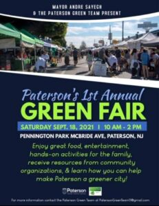 Paterson's 1st Annual Green Fair 9/18
